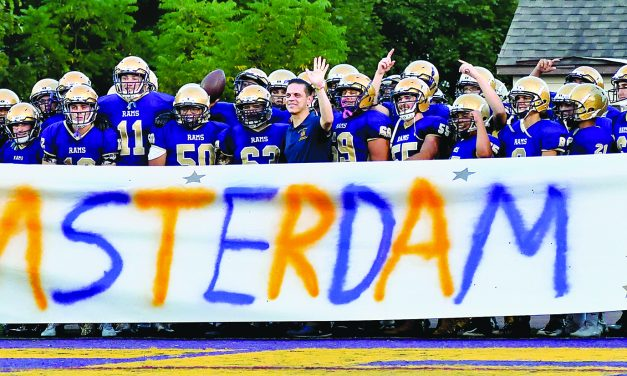 A look back at Amsterdam's 34-0 loss to Queensbury