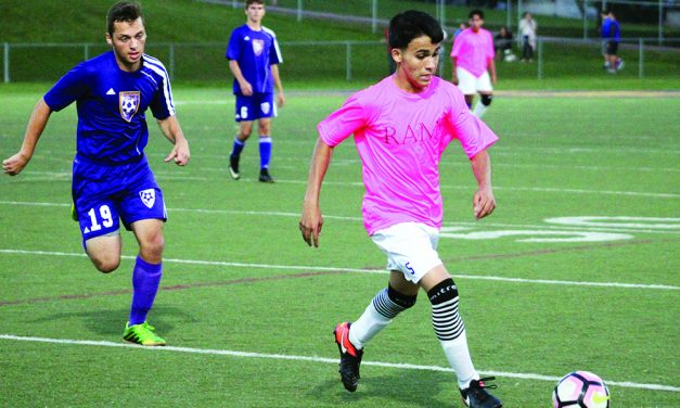 Arevalo scores 4 goals, Rams top Johnstown