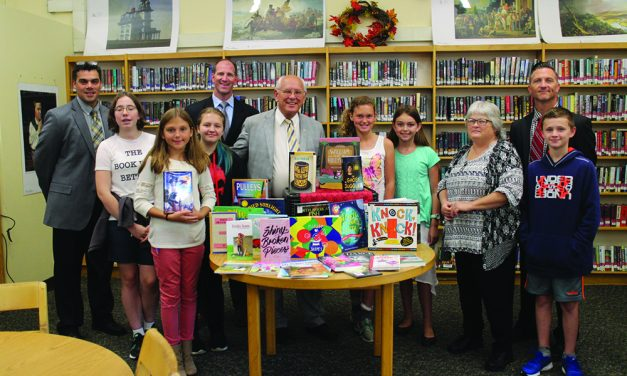 Tonko donates books from Library of Congress to F-FCS