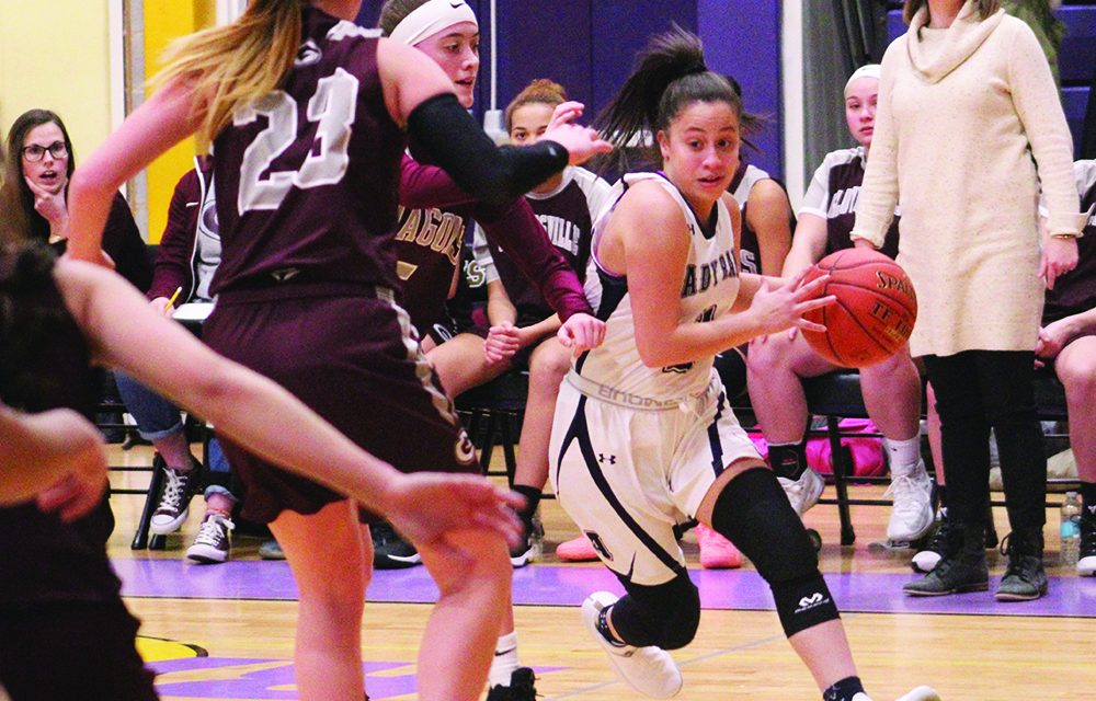 Big run helps Lady Rams close out Dragons, 67-43