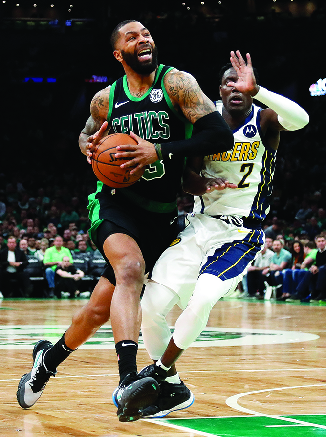 Celtics rally past Pacers in Game 1
