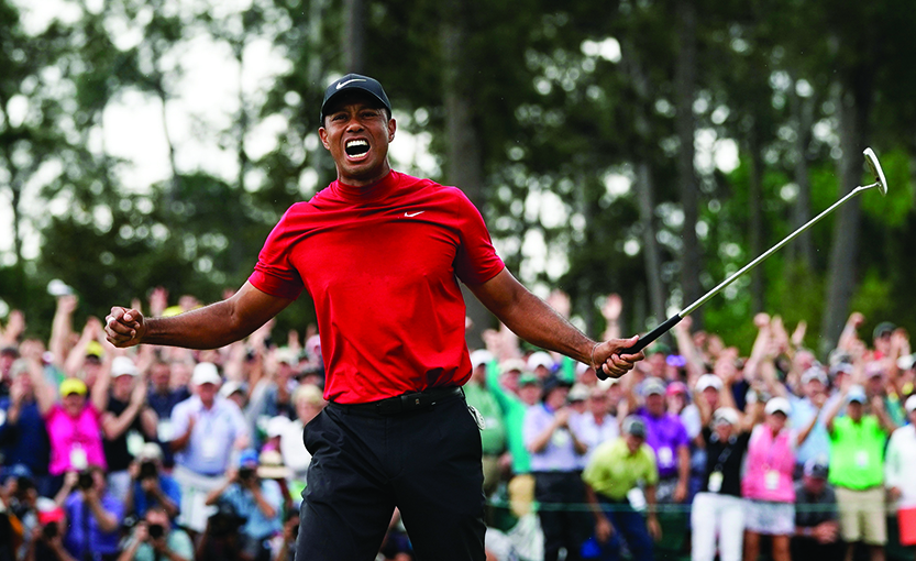 Tiger Woods captures his 15th major at Masters
