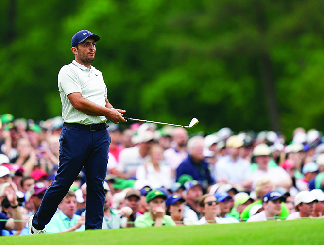 Steady for so long, Molinari's wet miscues cost him Masters