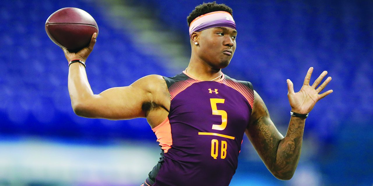 Giants have 2 first rounds: expect beef and maybe a QB