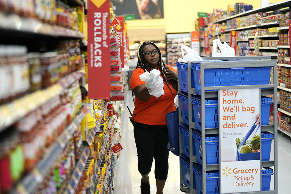 Food stamps, online shopping about to mix